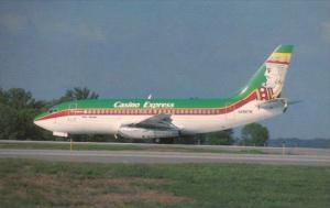 Casino Express Boeing B-737-2H4 At Minneapolis St Paul International Airport