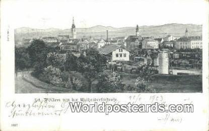 Von Der Waitzendorferftrake St Polten Austria 1903
