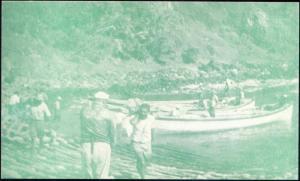 pitcairn island, Bounty Bay Harbour (1950s)
