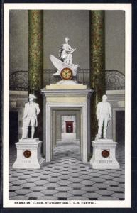Franzoni Clock,Statuary Hall,US Capitol