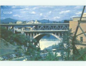 Unused Pre-1980 BRIDGE SCENE Spokane Washington WA HQ9006@