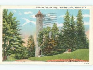 Linen Dartmouth College - Hanover New Hampshire NH E1940