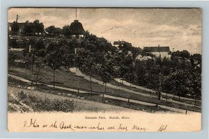 Duluth MN-Minnesota, Cascade Park, Vintage c1908 Postcard