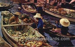 Floating Market Thailand Unused