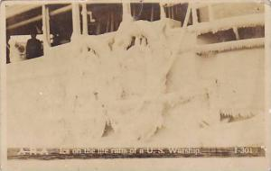 RP; ARA Ice on the life rafts of a U.S. Warship, 10-20s