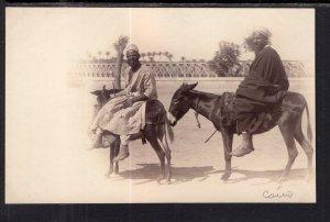Two Men on Donkeys,Egypt