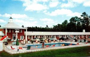 North Carolina Rocky Mount Midwood Motel Court