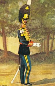 Military postcard Garderegiment Grenadiers Ceremoniële tenue 02.14