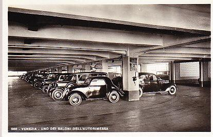 Italy Venice - Automobile Parking Ramp Interior RP