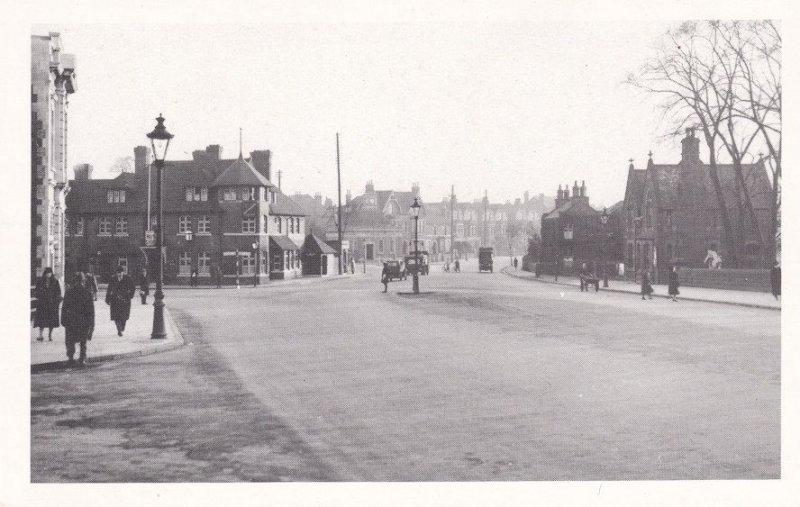 Trent Bridge Nottingham in 1932 Council Real Photo Postcard