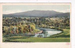 Vermont Burlington Winooski Valley and Mount Mansfield Detroit Publishing