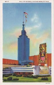 Hall Of Science Chicago World's Fair 1933 Curteich