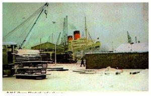 R.M.S. Queen Elizabeth at Southampton