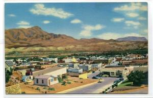 Panorama Truth Or Consequences City New Mexico 1950s postcard