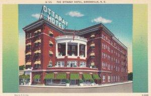GREENVILLE, South Carolina, 1930-40s; The Ottaray Hotel