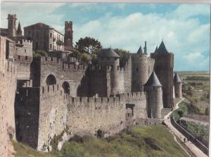 BF20813 carcassonne aude ensemble de la porte d aude  france   front/back image