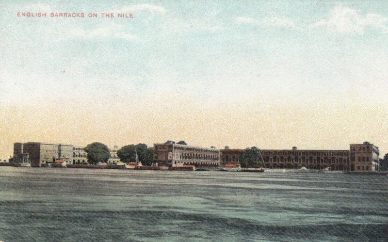 English Barracks on the Nile , Egypt , 00-10s