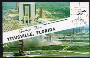 FL TITUSVILLE Greetings from Launch Site of American Astronauts John F Kennedy