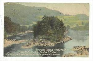 No Mans Island, Woodsville, New Hampshire, & Wells River, Vermont, 1900-1910s