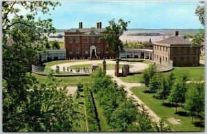 New Bern, North Carolina Postcard TRYON PLACE RESTORATION Front Exterior 1960s