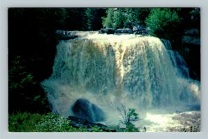 Scenic Blackwater Falls Canyon Allegheny Mountains Chrome West Virginia Postcard