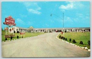 Warrenton VA Jefferson Motel~Playground & Cribs~Free TV  in Every Room~1959 PC