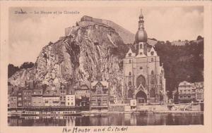 Belgium Dinant La Meuse et la Citadelle