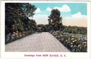 Greetings, New Haven NY