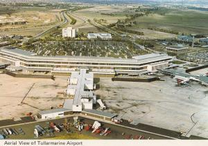 Tullarmarine Airport Australia 1970s Postcard