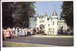 Entrance to Castle, Storybook Gardens, London, Ontario,