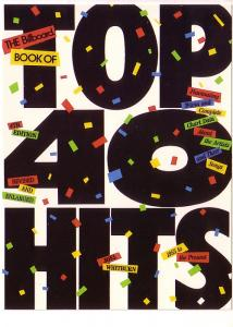 The Billboard Book Top 40 Hits, Joel Whitburn, 1989 5X7in Oversize Advertising