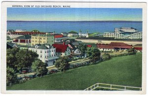 General View Of Old Orchard Beach, Maine