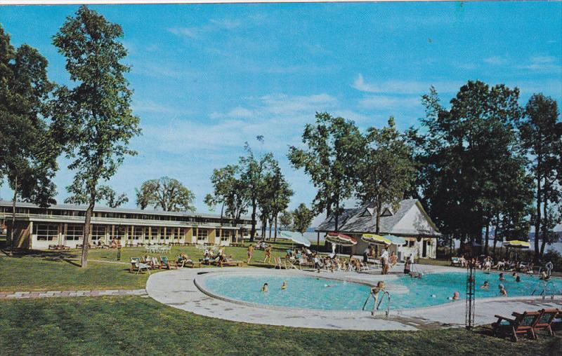 Swimming Pool, Motel des Laurentided, BEAUPORT, Quebec, Canada, 40-60´s