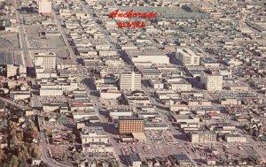 ANCHORAGE , Alaska , 1950-60s ; Air View