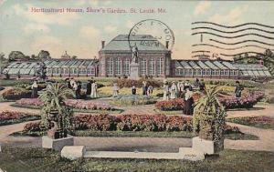 Missouri Saint Louis Horticultural House Shaws Garden 1911
