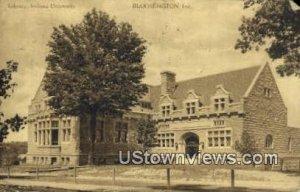 Library, Indiana University - Bloomington