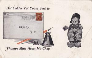 Dutch boy Greetings , Ripley , New York , PU-1913