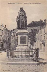 Statue De Jean, Sire De Joinville, Joinville (Haute  Marne), France, 1900-1910s