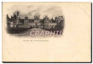 Postcard Old Palace of Fontainebleau