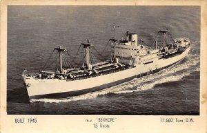 MV Benhope Ben Line Ship Unused