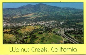 California Walnut Creek Panoramic View