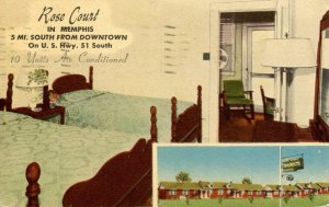 TN - Memphis. Rose Court Cabins