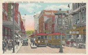 KNOXVILLE , Tennessee, 00-10s; Gay Street , Looking South