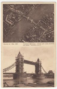 London; Tower Bridge, No 46 PPC, Unused, c 1910's, St Pauls Hospital Competition