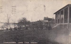Curruther's Long Lake Resort Dundee Wisconsin 1921