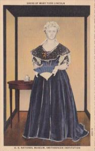 Dress Of Mary Todd Lincoln U S National Museum Smithsonian Institution Washin...