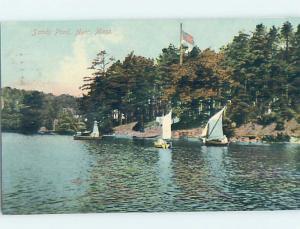 Divided-Back SHORELINE Ayer Massachusetts MA hp6102