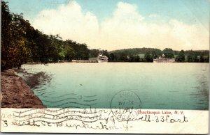 Vintage Postcard - LONG POINT - CHAUTAUQUA LAKE - NY - New York