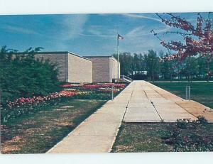 Unused Pre-1980 MUSEUM SCENE Abilene Kansas KS ho9272