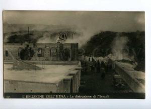 247782 ITALY Eruption volcano Etna destruction Mascali photo